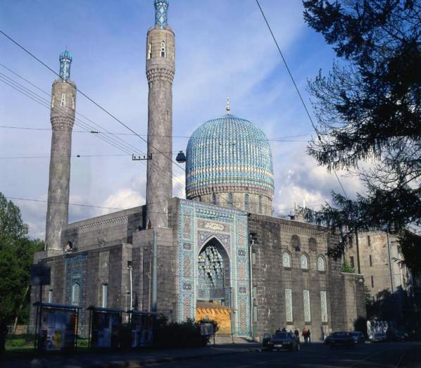 Реставрация купола Соборной мечети, г. Санкт-Петербург